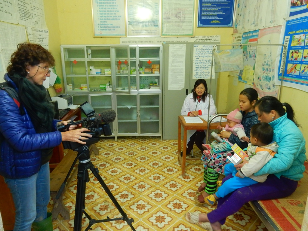 marion-in-einer-health-clinic