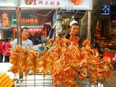 xian-muslim-quartier-markt-krabben