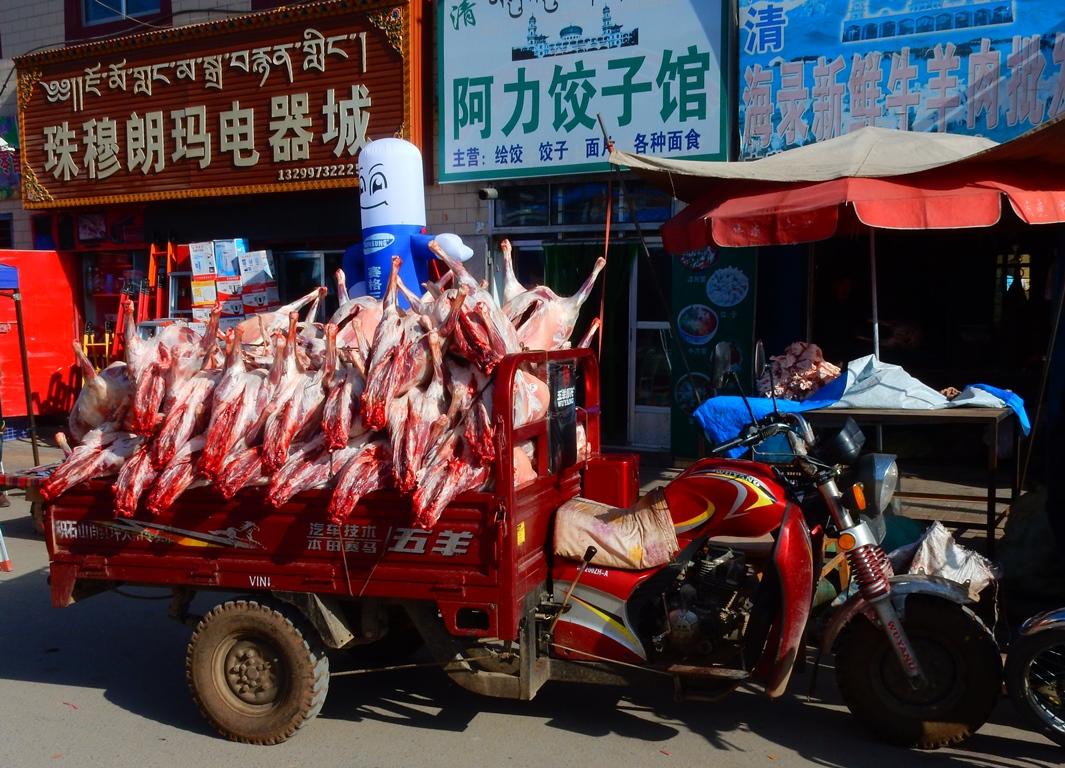 tongren-markt-fleischverkauf