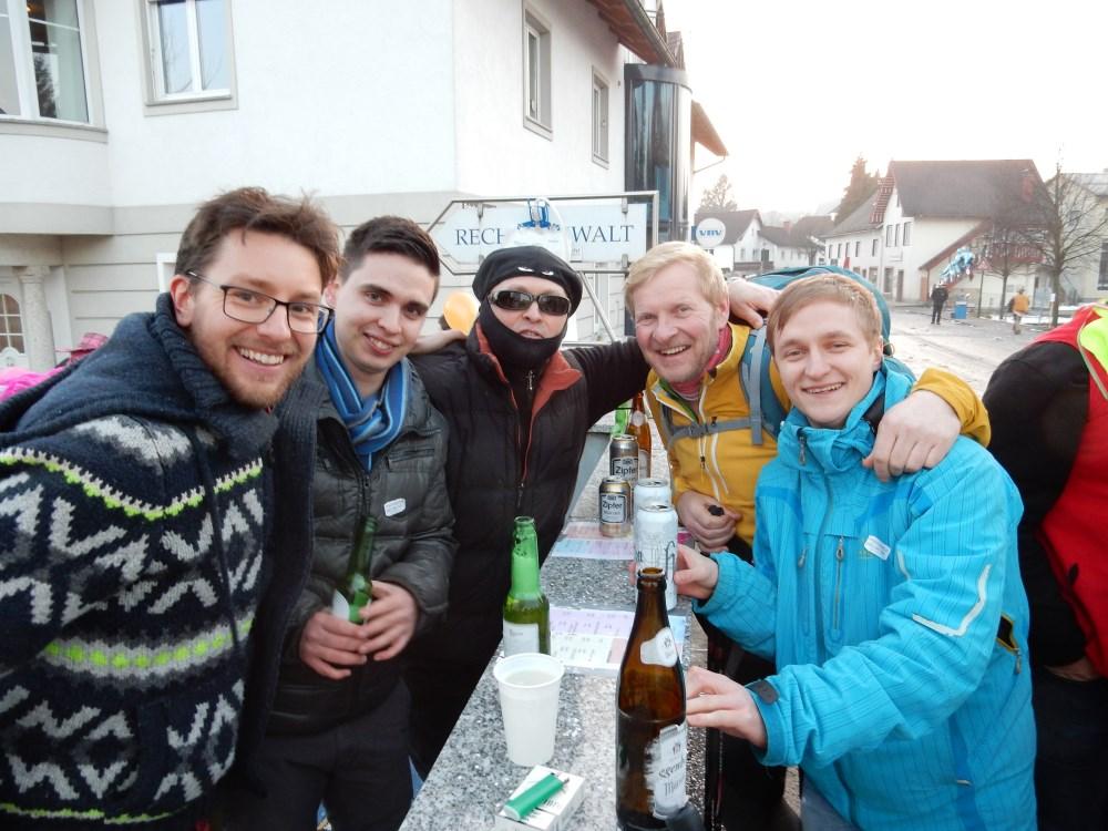 Bernhard, Michael, Wolfgang und Florian