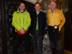 mit Florian Werner im Arlberg Hospiz