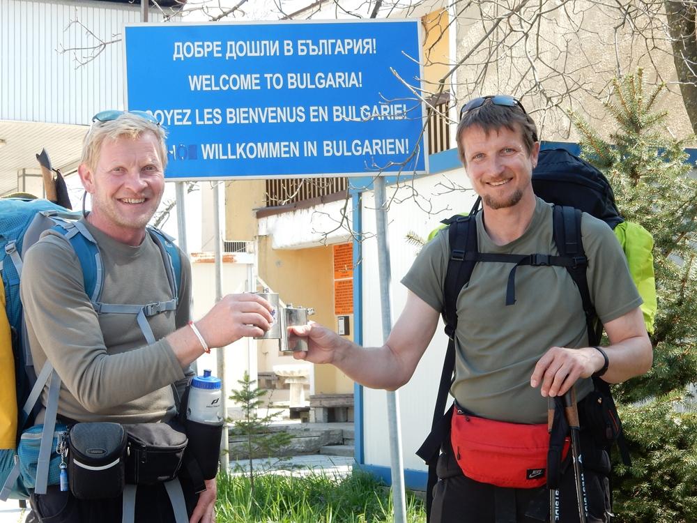 Grenze zu Bulgarien