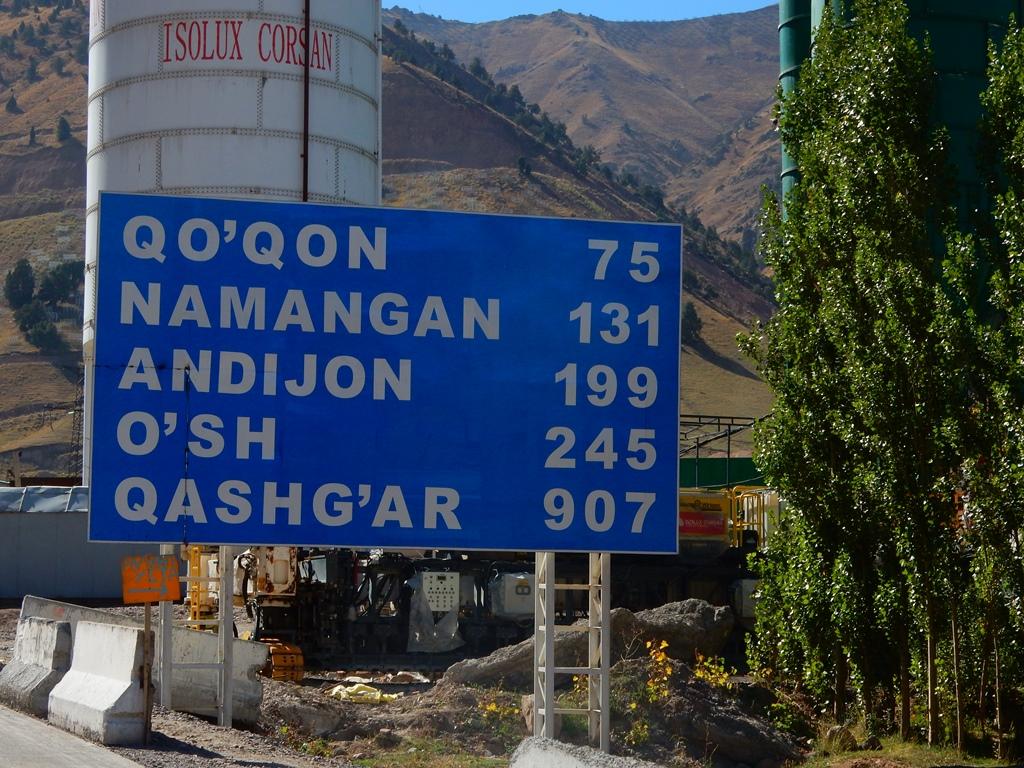 Noch 907 km bis Kashgar