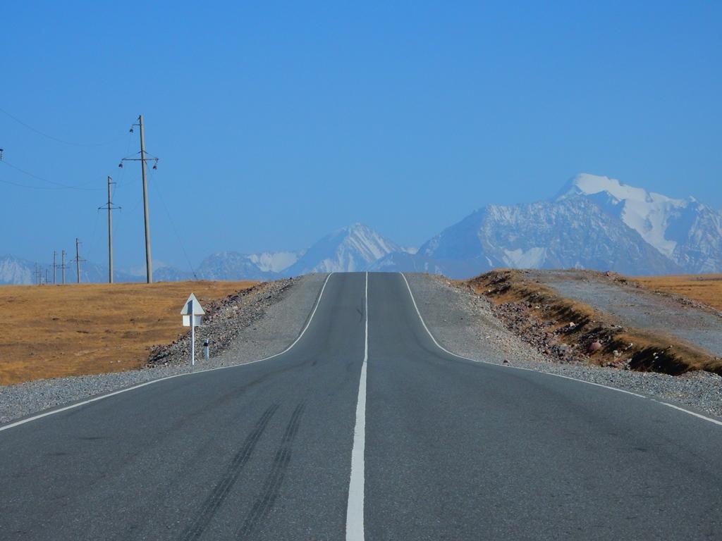 Auf dem Pamir Highway 1