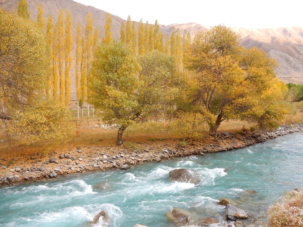 Entlang des Gulcha Rivers 3