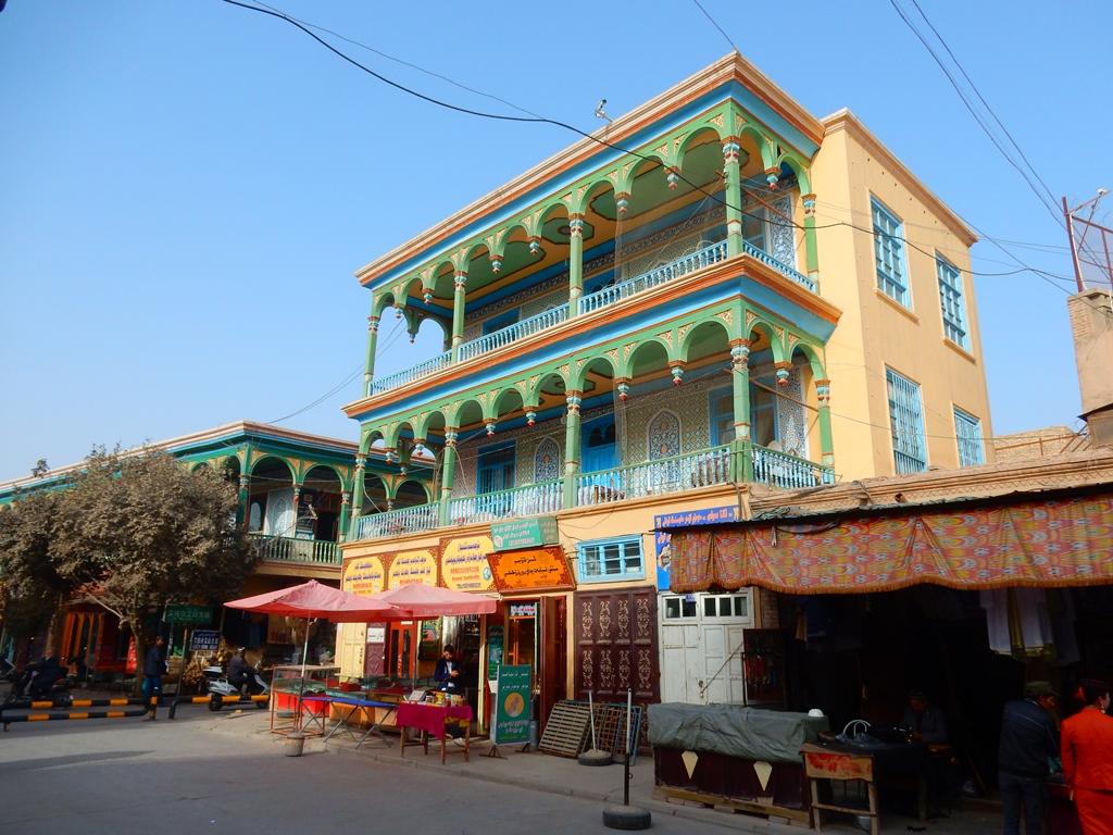 Kashgar Altstadt 1