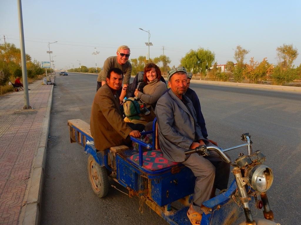Unsere Fahrt nach Kashgar