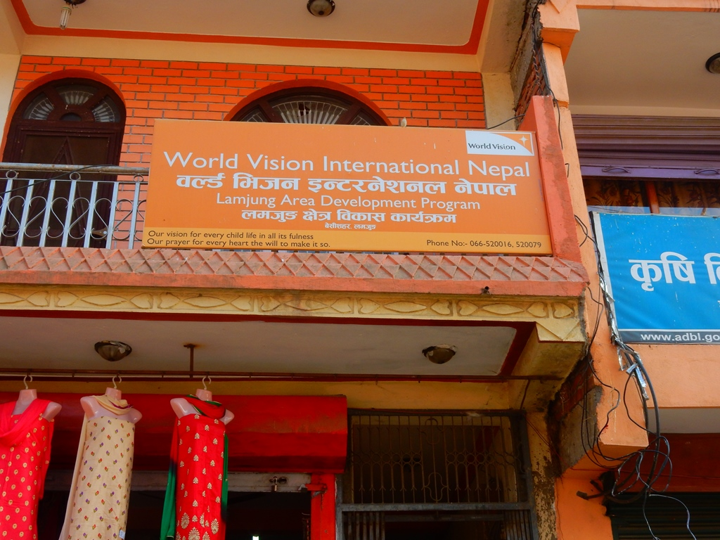 Bei World Vision in Nepal 1