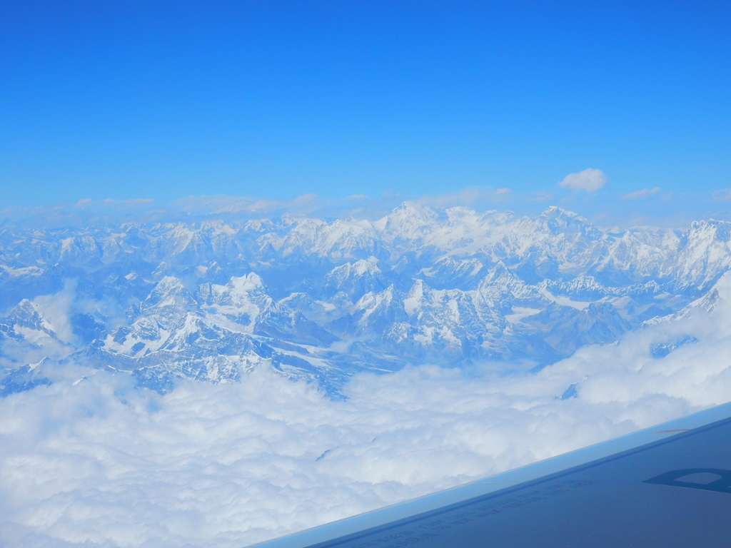 Flug über den Himalaya 2