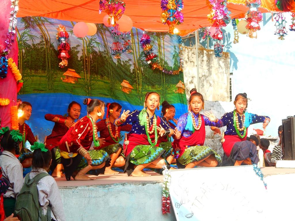 Tihar Fest in der Schule 10