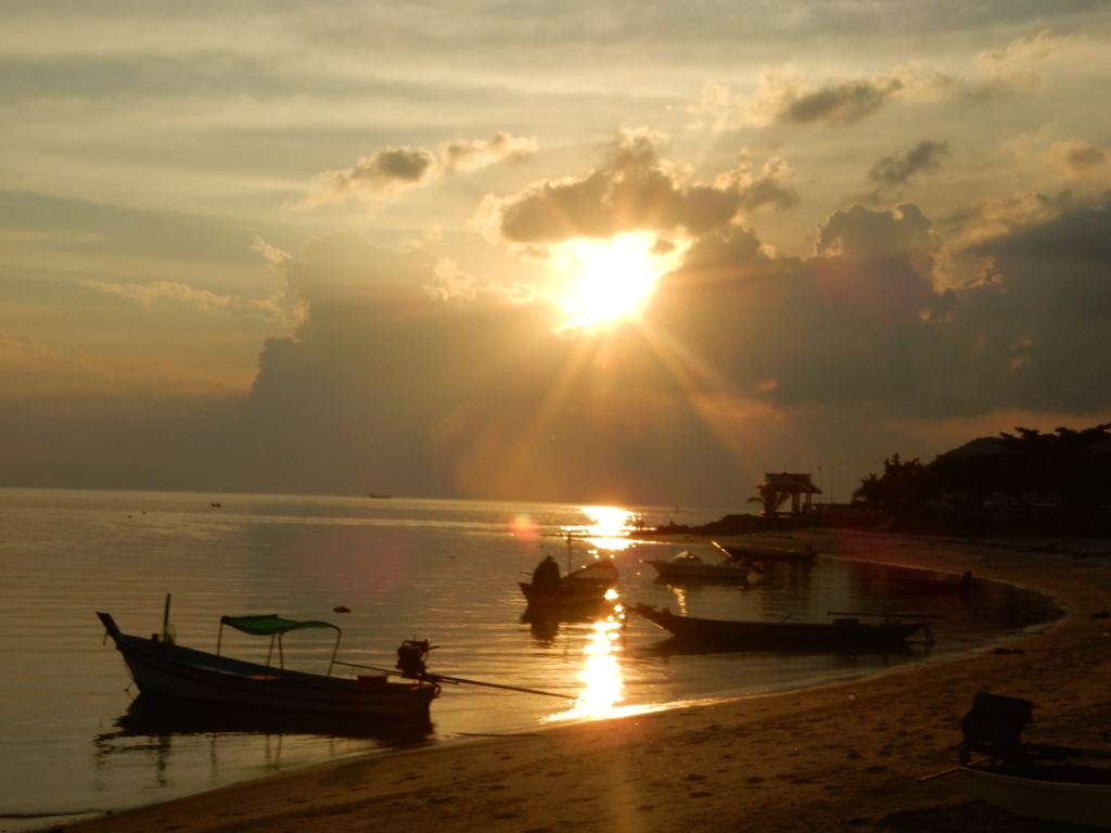 Ko Phangan sunset 2