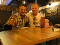 Unser letztes Bier in Asien